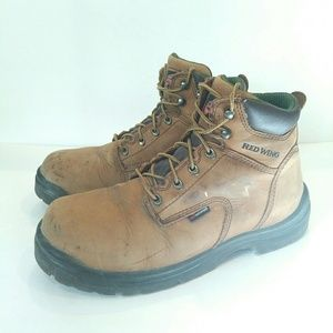 Red Wing mens boots size 10.5 king tor waterproof